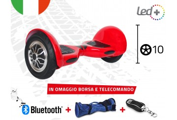 Hoverboard Rosso 10