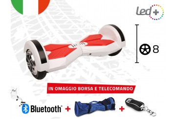 Hoverboard Bianco 8.0