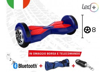 Hoverboard Blue 8.0