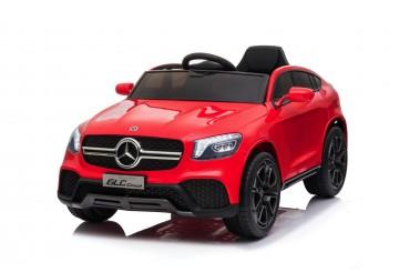 Auto Macchina Elettrica Per Bambini 12v Mercedes Glc Coupè Con Telecomando Rossa