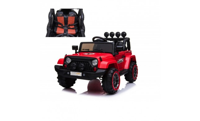 Auto Macchina Elettrica per Bambini Fuoristrada Adventure 12V MP3 Led con Telecomando Full Optional Sedili in Pelle