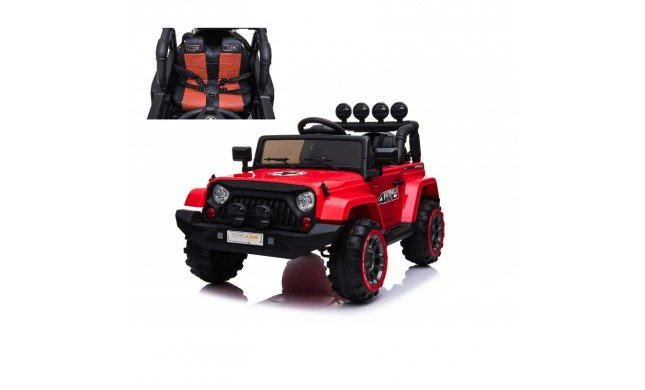 Auto Macchina Elettrica per Bambini Jeep Adventure 12V MP3 Led con Telecomando Full Optional Sedili in Pelle
