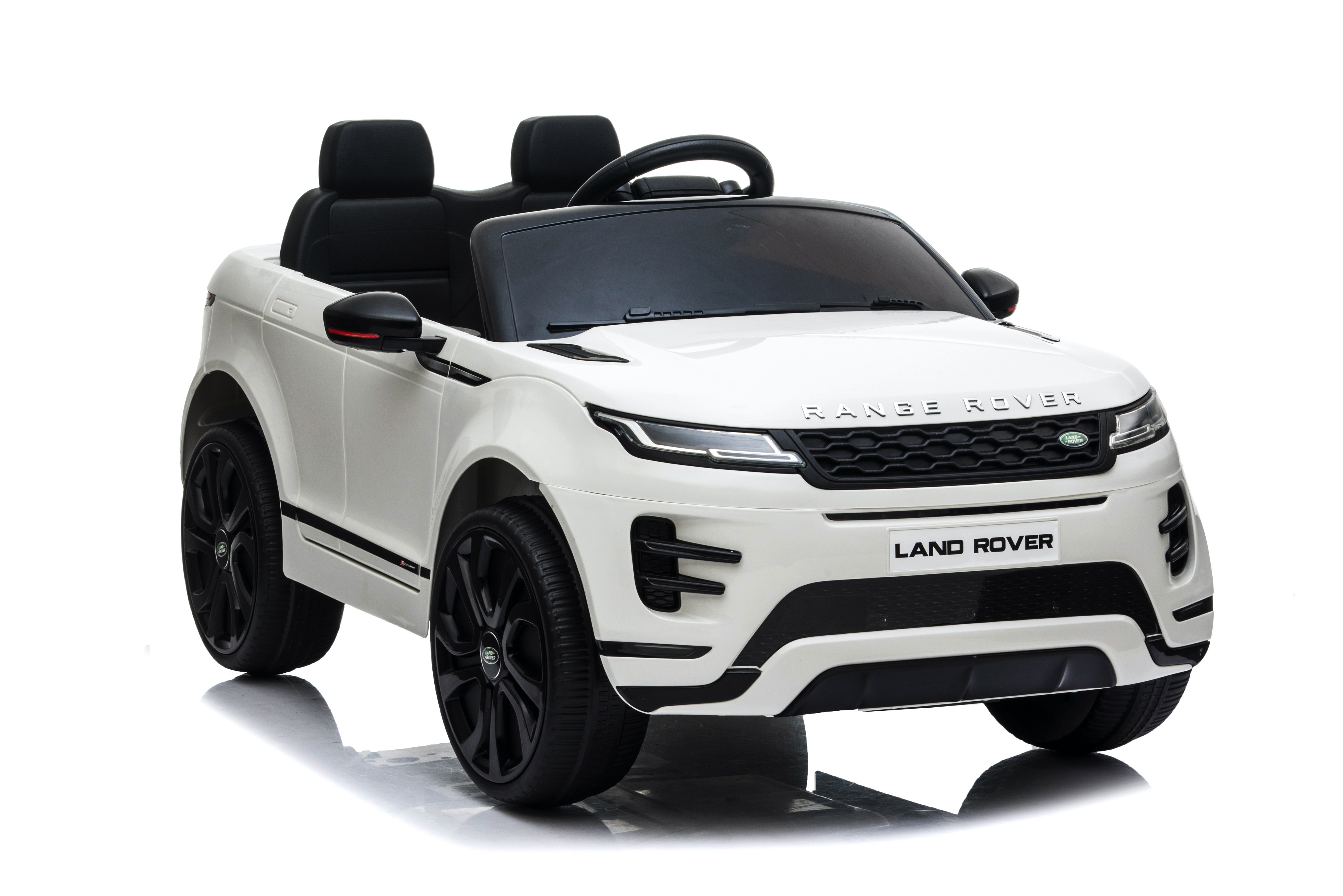 Macchina Elettrica per Bambini 12V Land Rover Evoque Bianca